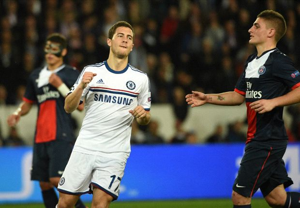 Paris Saint-Germain exploited 'tired' Chelsea, admits Hazard