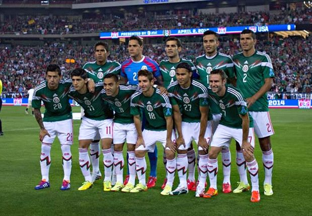 Mexican squad in 2014