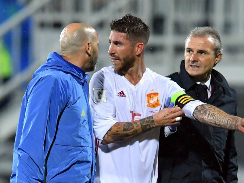 Le Real Madrid confirme l'entorse des ligaments pour Sergio Ramos