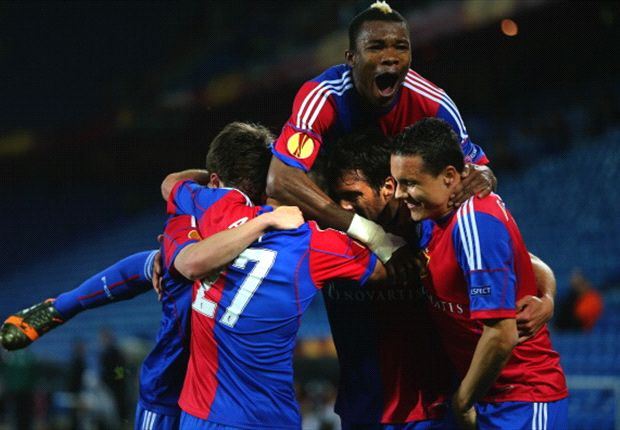 Three and easy for Basel and Juve edge Lyon - Europa League in pictures