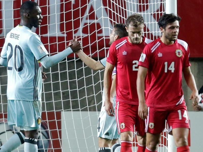 Super Benteke: goal dopo 7 secondi, il più veloce nella storia dei tornei mondiali
