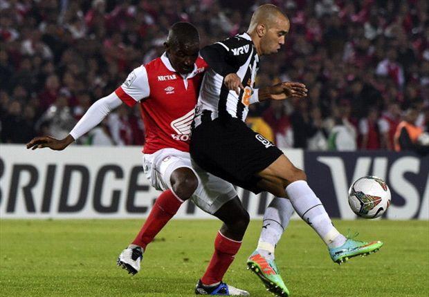 Santa Fe respira con el empate ante Mineiro