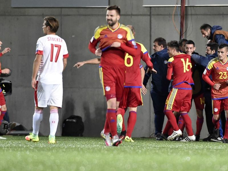 Festa Martinez: 1° goal di Andorra nelle Qualificazioni il giorno del 18° compleanno