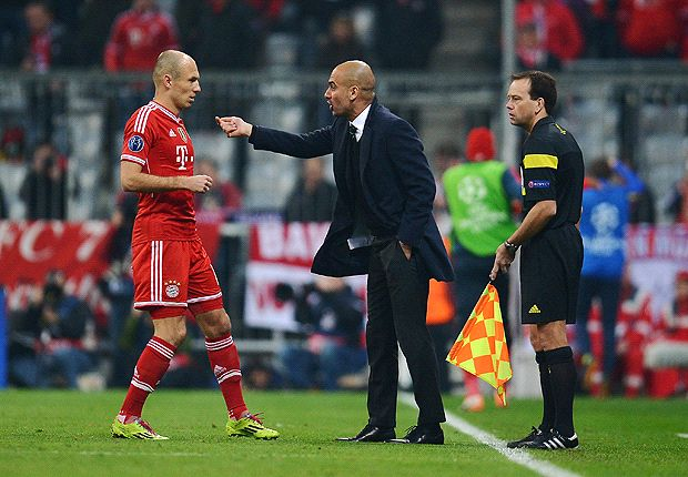 Robben is Bayern's most important attacker, says Guardiola