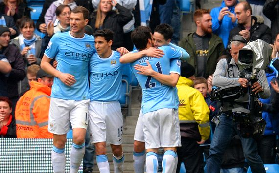 Samir Nasri Manchester City Southampton Premier League 04052014