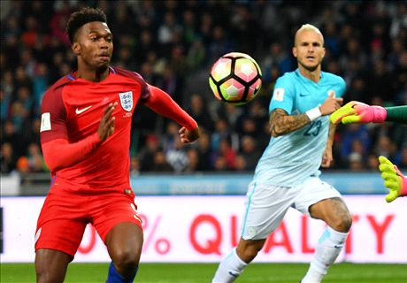 Ratings: Slovenia 0-0 England