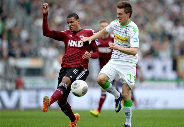 Für Nürnberg rückt der Abstieg näher, für Gladbach die Champions League