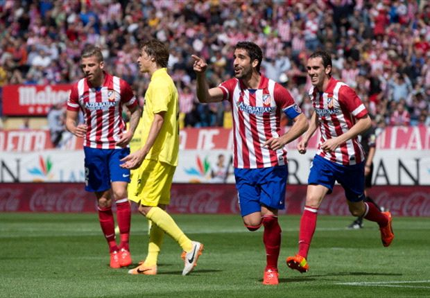 Atletico Madrid 1-0 Villarreal: Raul Garcia keeps Simeone's men top