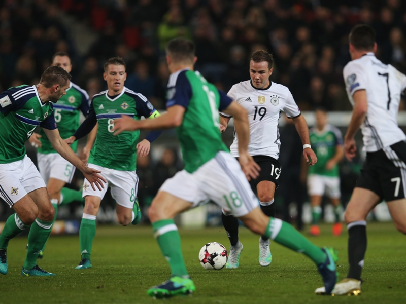 Un amical entre l'Allemagne et l'Angleterre à Dortmund