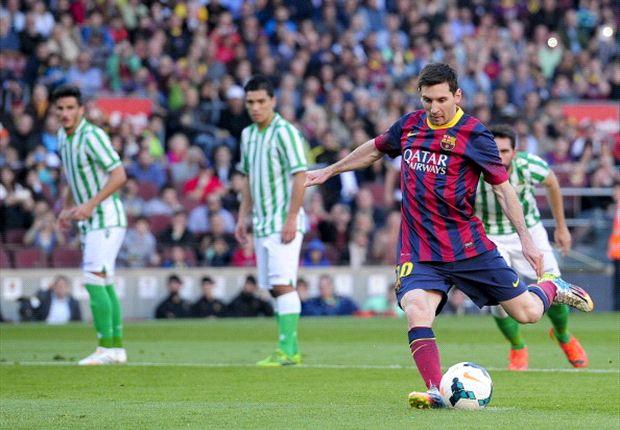 Barcelona 3-1 Betis: Lionel Messi sentencia al equipo de Heliópolis