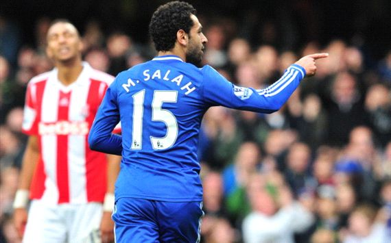 Mohamed Salah - Chelsea - Stoke City
