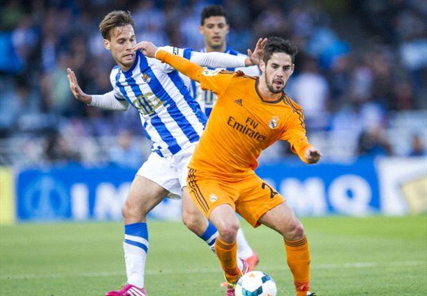"""Real Sociedad 0-4 Real Madrid: Aún """"Illarra"""" esperanzas de título"""