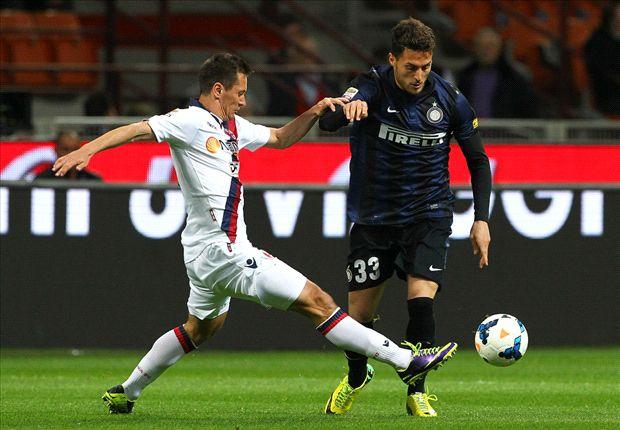 Inter 2-2 Bologna: Visitors dent Nerazzurri's Europa League hopes
