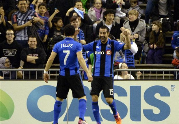 Montreal Impact 2-2 New York Red Bulls: Felipe salvages a point for Impact