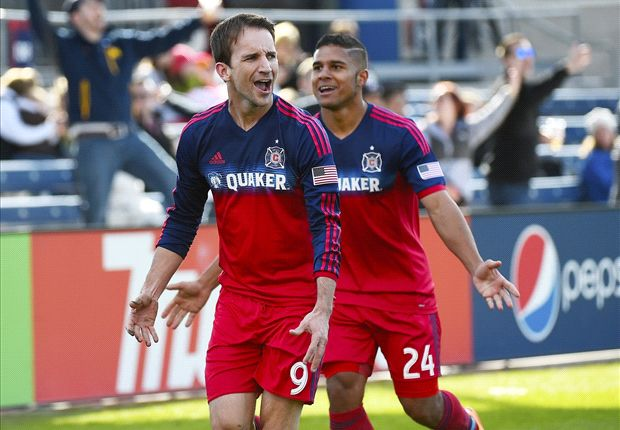 Chicago Fire 2-1 Sporting Kansas City: Magee converts penalties as Palmer-Brown sent off in debut