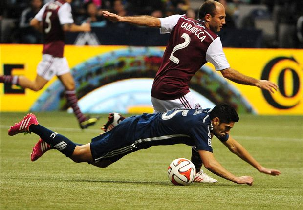 Whitecaps question Laba red card in 2-1 loss to Rapids