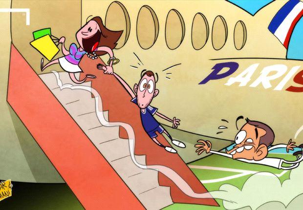 Eden Hazard, ¿arrastrado al PSG por su mujer?