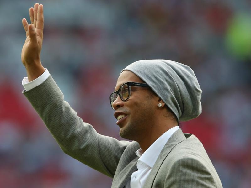 Ronaldinho dévoile ses idoles