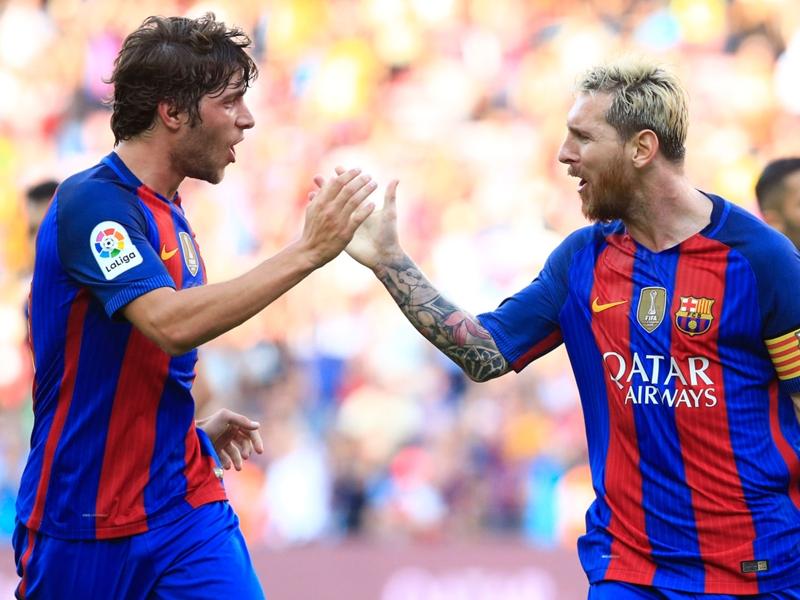 Barça, Messi et Umtiti reprennent l'entraînement collectif