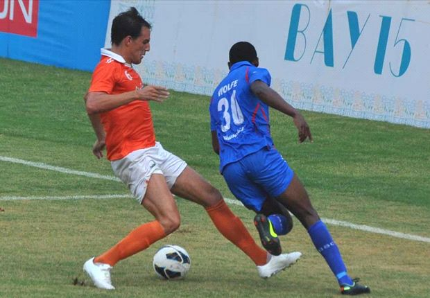Sporting Clube de Goa 1-1 Churchill Brothers: Wasteful Red Machines stung by Karpeh's equaliser