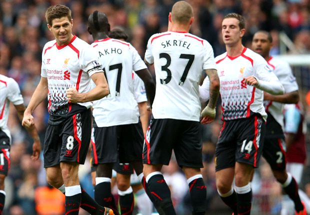 Gerrard: Manchester City clash not a title decider for Liverpool