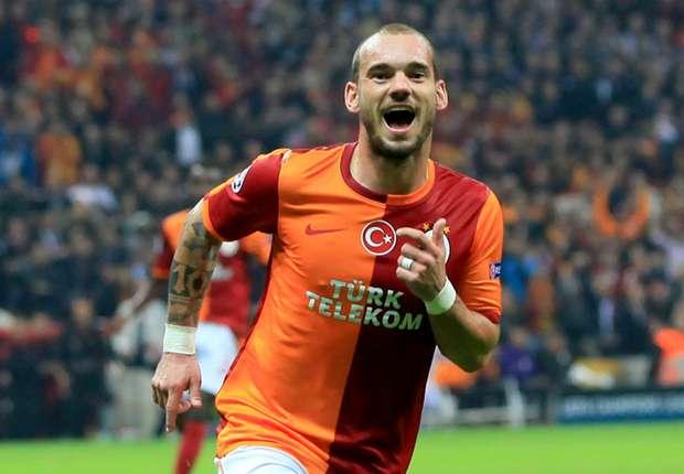 Wesley Sneijder avancierte gegen Fenerbahce zum Matchwinner