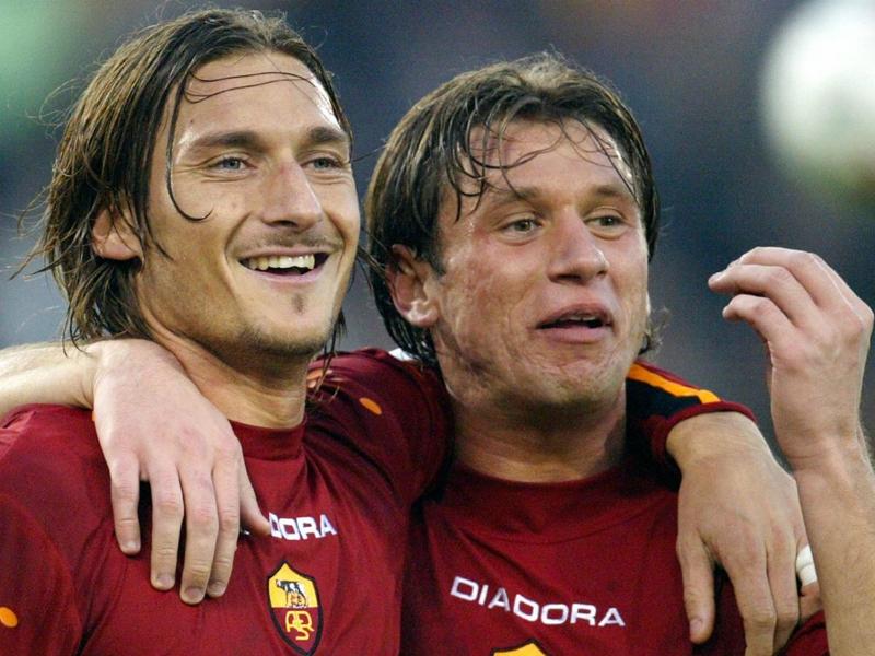 """AS Roma, Totti : """"Cassano est le meilleur joueur que j'ai côtoyé"""""""