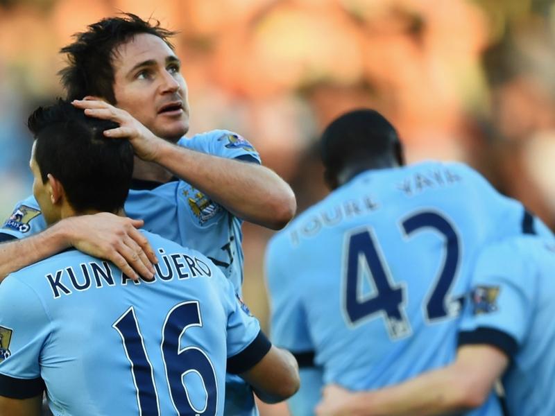 """Agüero : """"Lampard est mon joueur favori parmi les meilleurs buteurs de Premier League"""""""