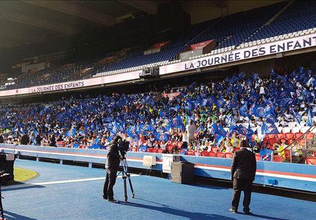 Match à huis clos partiel pour le PSG