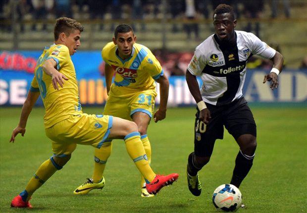 Parma 1-0 Napoli: Parolo fires hosts to victory