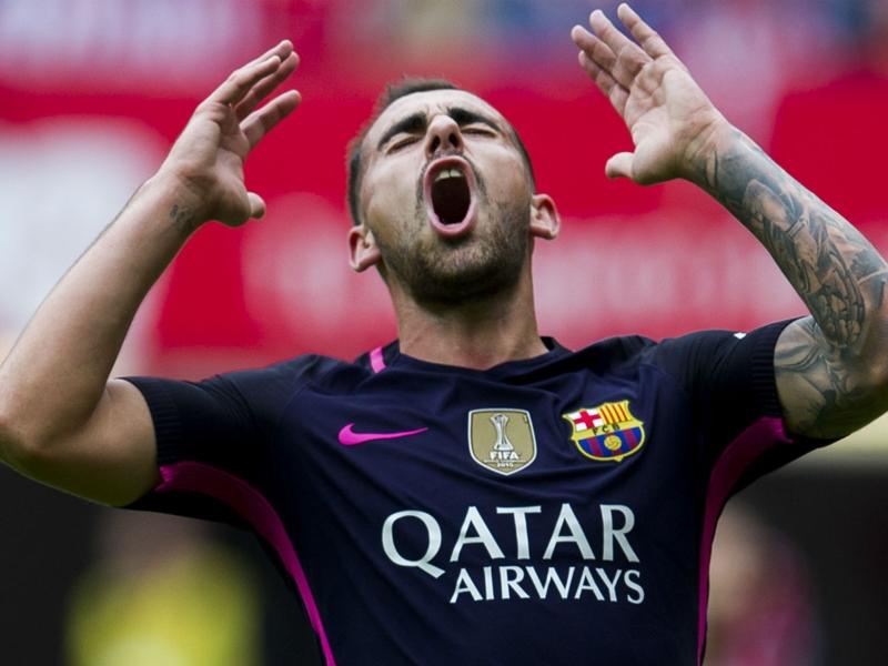 """Barça, Alcacer : """"Je ne suis pas inquiet ni anxieux"""""""