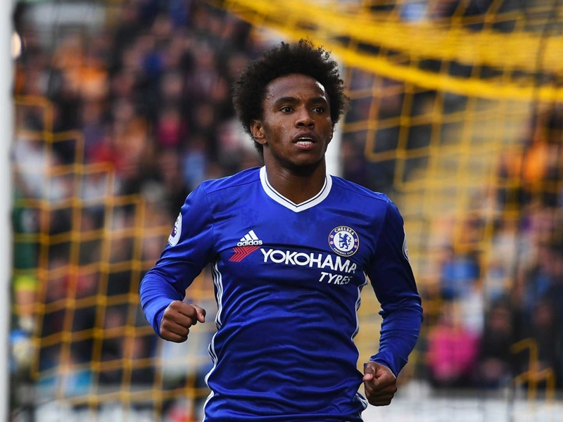 Willian rules out Chelsea exit amid Man Utd transfer talk