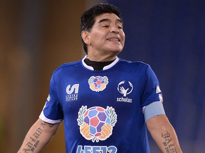 Argentina legend Maradona to sue video game PES 2017 makers Konami