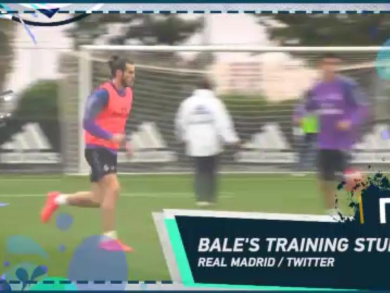 Ronaldinho et Gareth Bale dans le Social Snap du jour