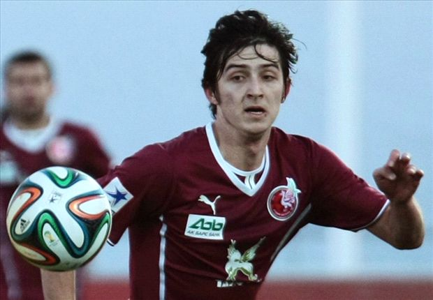 Rubin striker Sardar Azmoun claims Arsenal offer