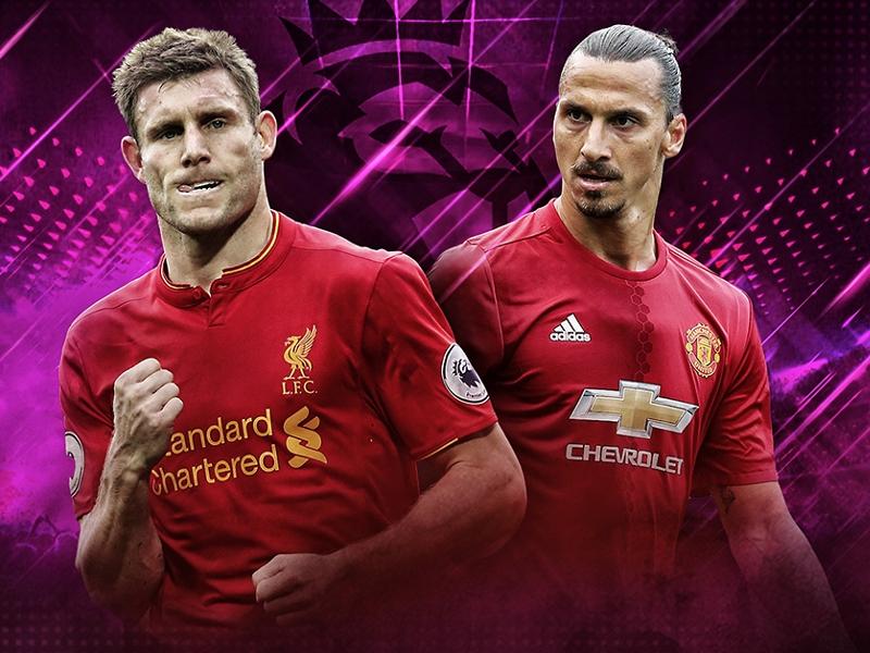 Liverpool, un maillot spécial contre Manchester United