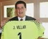 Villar le regaló su camiseta al Presidente paraguayo