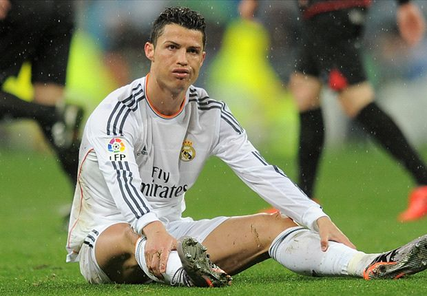 Ronaldo left out of Real Madrid line-up to face Dortmund
