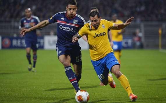 Juventus striker Carlos Tevez