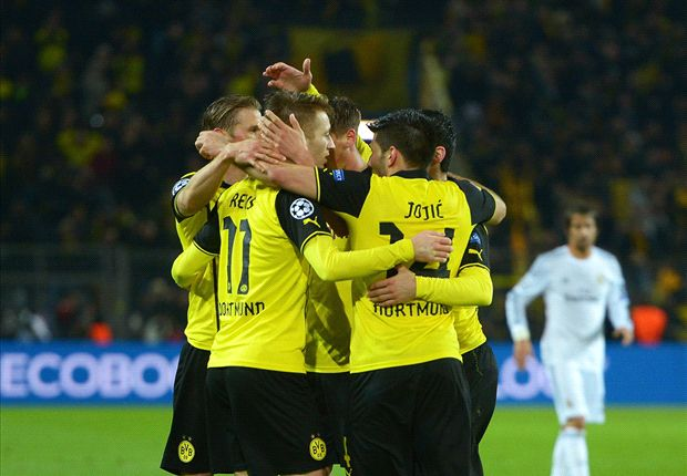 Borussia Dortmund 2-0 Real Madrid: Hosts crash out despite Reus double