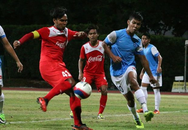 Haziq Azman (left) and his Home Prime League team-mates will defend their FA Cup trophy.