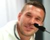 Podolskis Abschied gegen England