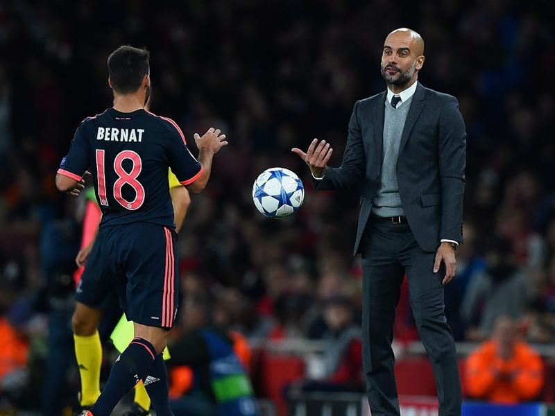 """Bayern Munich, Bernat : """"Même blessé, Guardiola prenait de mes nouvelles"""""""