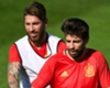 'White fits him well' - Ramos jabs back at Pique's comments