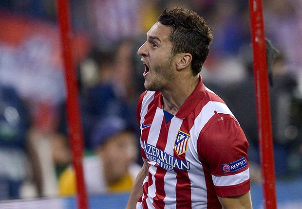 Koke downs Barca and United's dream ended by Robben - Wednesday's Champions League in pics