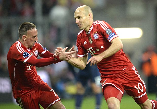 Champions League Team of the quarter-final second legs: Robben, Reus and Schurrle the stars of the week