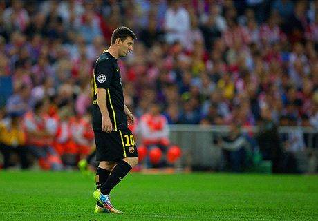 Antic slams sulking Messi