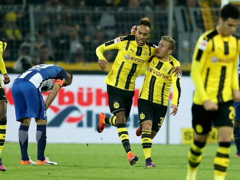 Borussia Dortmund-Hertha Berlin 1-1, le Hertha résiste au BvB