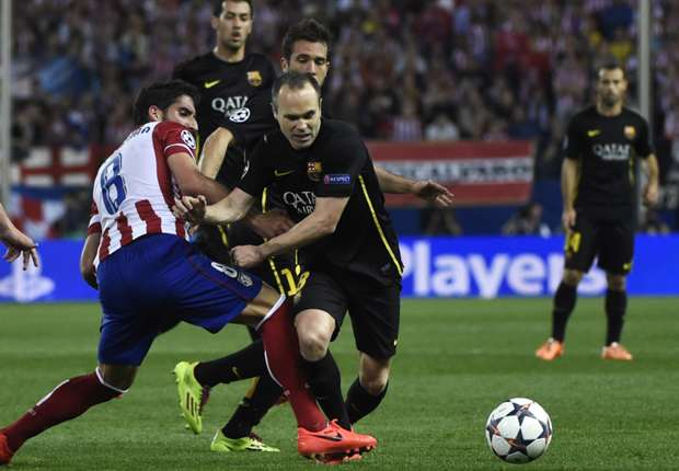 Andres Iniesta: Atletico deserved to go through