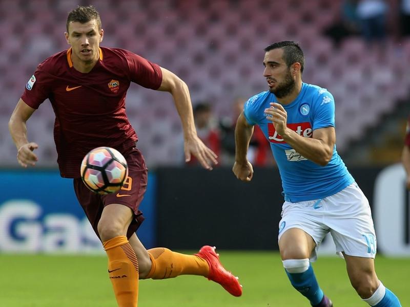 E' un altro Dzeko alla Roma: 7 goal in 8 gare, capocannoniere